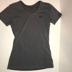 Nike Pro Gray Tee